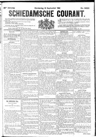 Schiedamsche Courant 1912-09-19