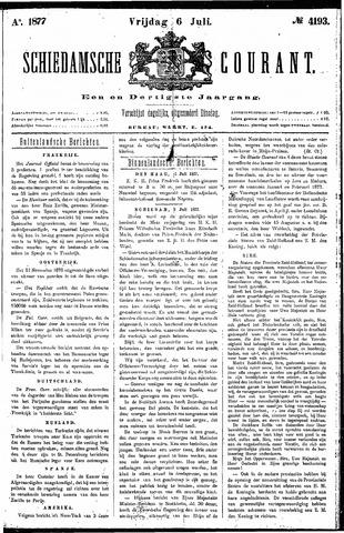 Schiedamsche Courant 1877-07-06