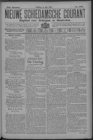 Nieuwe Schiedamsche Courant 1917-05-11