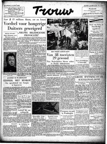 Trouw / De Rotterdammer 1953-07-13