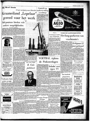 Rotterdamsch Parool / De Schiedammer 1964-05-14