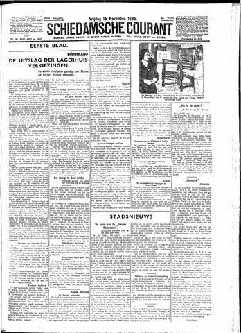 Schiedamsche Courant 1935-11-15