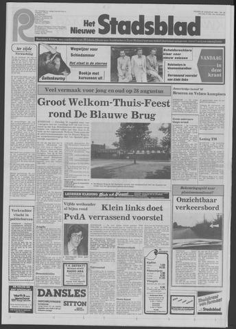Het Nieuwe Stadsblad 1982-08-20