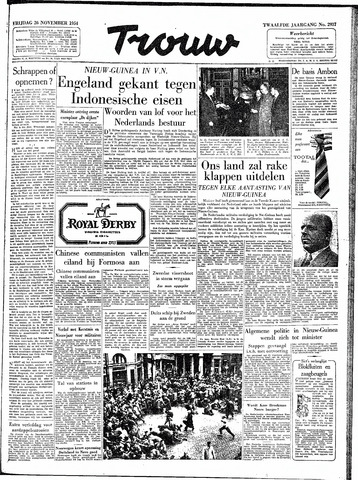 Trouw / De Rotterdammer 1954-11-26