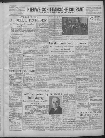 Nieuwe Schiedamsche Courant 1949-01-20