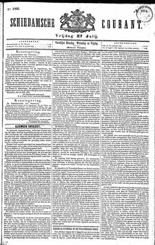 Schiedamsche Courant 1866-07-27