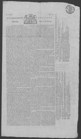 Rotterdamse Courant 1826-02-25