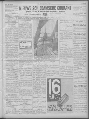 Nieuwe Schiedamsche Courant 1932-04-25