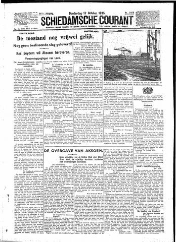 Schiedamsche Courant 1935-10-17