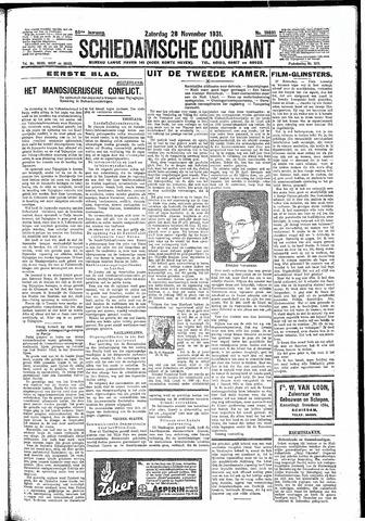 Schiedamsche Courant 1931-11-28