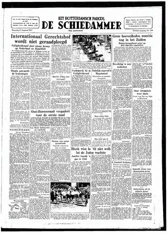 Rotterdamsch Parool / De Schiedammer 1947-08-27