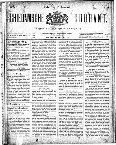 Schiedamsche Courant 1885-01-10