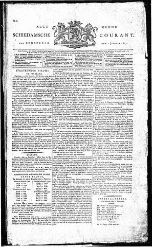 Algemeene Schiedamsche Courant 1807