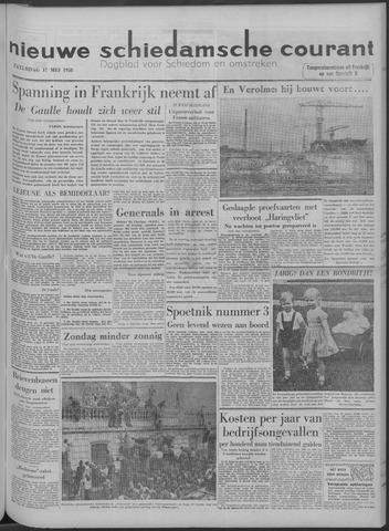 Nieuwe Schiedamsche Courant 1958-05-17