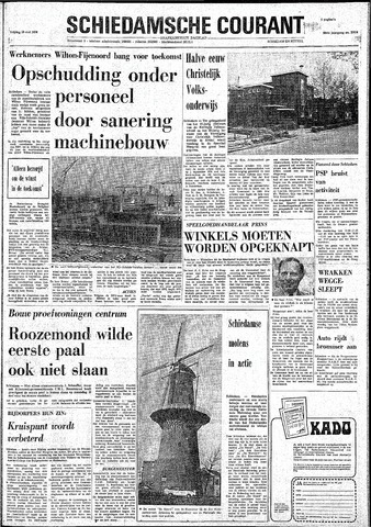 Rotterdamsch Nieuwsblad / Schiedamsche Courant / Rotterdams Dagblad / Waterweg / Algemeen Dagblad 1974-05-10