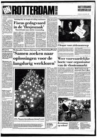 Rotterdamsch Nieuwsblad / Schiedamsche Courant / Rotterdams Dagblad / Waterweg / Algemeen Dagblad 1987-12-19