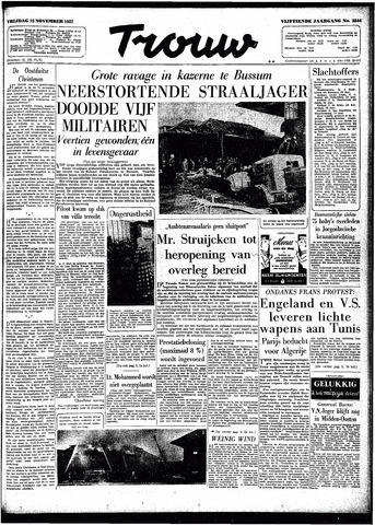 Trouw / De Rotterdammer 1957-11-15