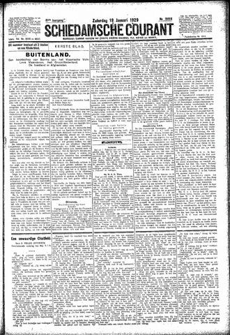 Schiedamsche Courant 1929-01-19