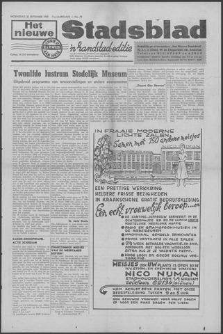 Het Nieuwe Stadsblad 1959-09-30