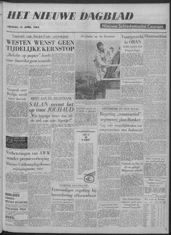 Nieuwe Schiedamsche Courant 1962-04-13