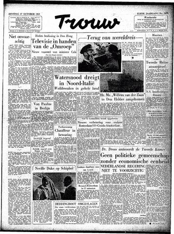Trouw / De Rotterdammer 1953-10-27