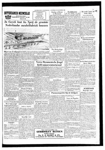 Rotterdamsch Nieuwsblad / Schiedamsche Courant / Rotterdams Dagblad / Waterweg / Algemeen Dagblad 1964-11-28