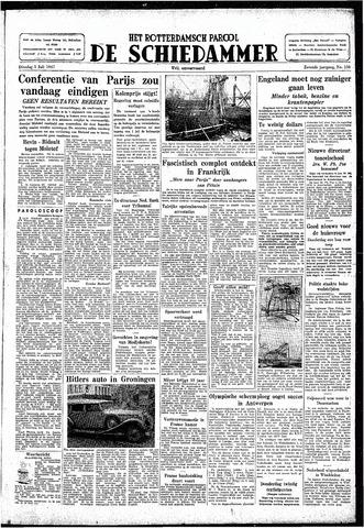 Rotterdamsch Parool / De Schiedammer 1947-07-01