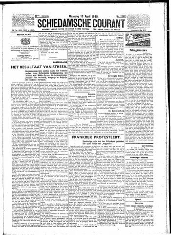 Schiedamsche Courant 1935-04-15