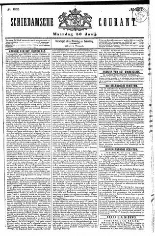 Schiedamsche Courant 1862-06-30