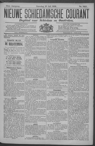 Nieuwe Schiedamsche Courant 1909-07-10