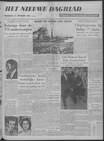 Nieuwe Schiedamsche Courant 1961-09-13