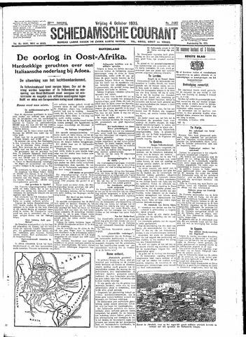 Schiedamsche Courant 1935-10-04
