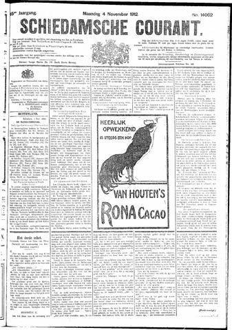 Schiedamsche Courant 1912-11-04