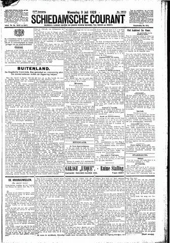 Schiedamsche Courant 1929-07-03
