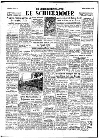 Rotterdamsch Parool / De Schiedammer 1948-04-26