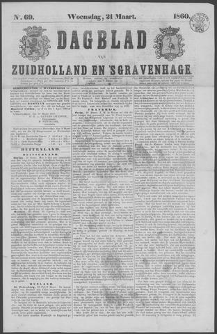 Dagblad van Zuid-Holland 1860-03-21