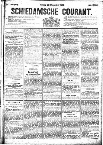 Schiedamsche Courant 1916-12-22
