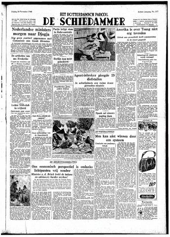 Rotterdamsch Parool / De Schiedammer 1948-11-26