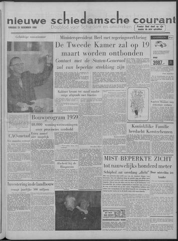 Nieuwe Schiedamsche Courant 1958-12-23
