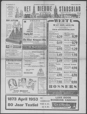 Het Nieuwe Stadsblad 1953-04-10