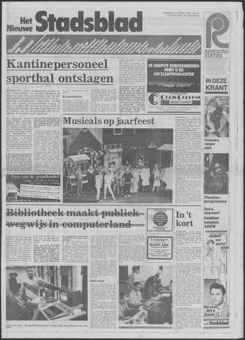 Het Nieuwe Stadsblad 1985-03-27