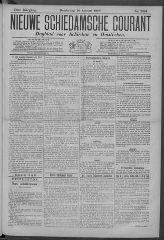 Nieuwe Schiedamsche Courant 1909-01-28