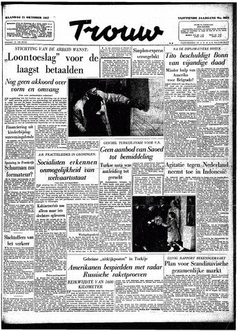 Trouw / De Rotterdammer 1957-10-21