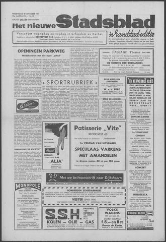 Het Nieuwe Stadsblad 1961-11-08