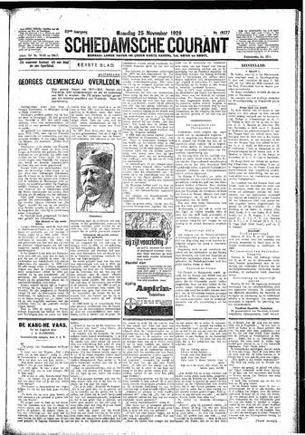 Schiedamsche Courant 1929-11-25