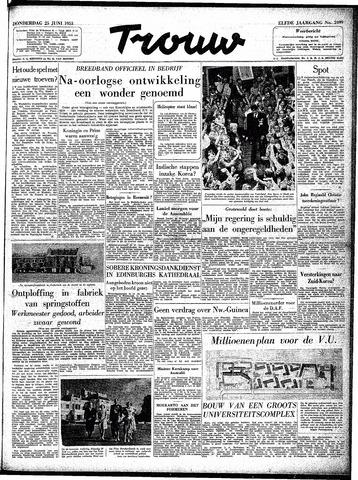 Trouw / De Rotterdammer 1953-06-25
