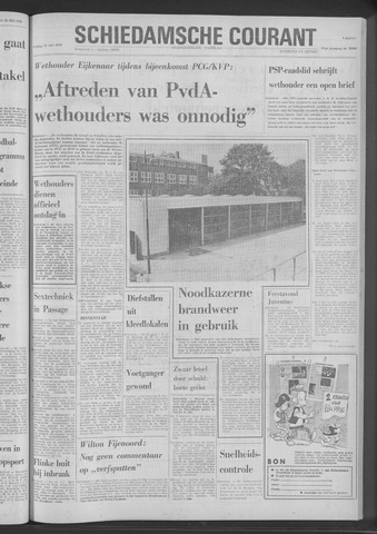 Rotterdamsch Nieuwsblad / Schiedamsche Courant / Rotterdams Dagblad / Waterweg / Algemeen Dagblad 1970-05-29