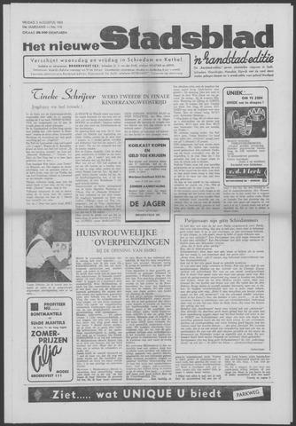 Het Nieuwe Stadsblad 1963-08-02