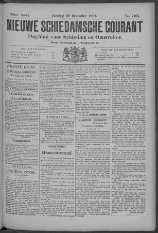 Nieuwe Schiedamsche Courant 1901-12-22
