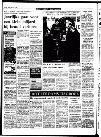 Rotterdamsch Parool / De Schiedammer 1968-02-20